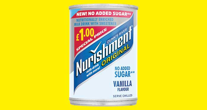 Nurishment no added sugar £1 PMP