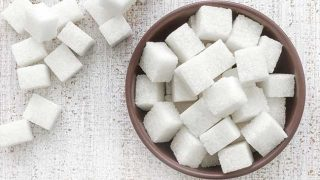 Sugar tax: cubes of sugar