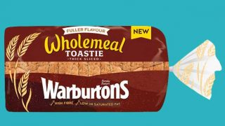 Warburtons wholemeal toastie loaf