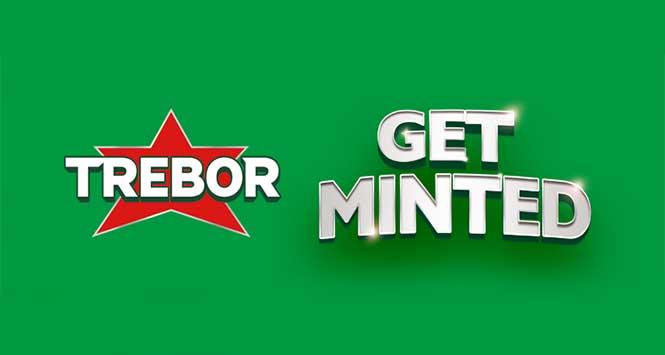 Trebor Get Minted logo