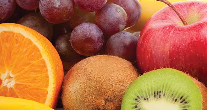 Healthy eating: fruit