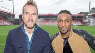 Ben Fogle and Jermain Defoe in Quorn's Plate Up campaign.