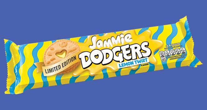 Jammie Dodgers Lemon Twist