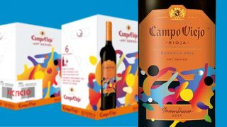 Campo Viego Reserva Art Series limited edition bottle