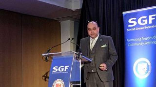 Pete Cheema, at SGF summit