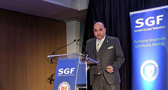 Pete Cheema, at SGF summit