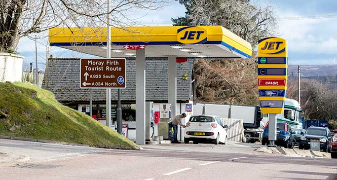 Jet Contin filling station
