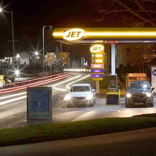 Jet Lochbroom filling station