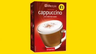 Lifestyle Express own-label cappuccino