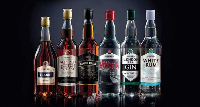 Nisa Heritage spirits collection