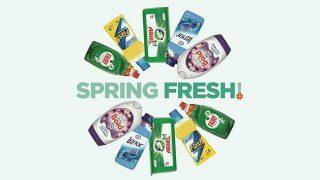 P&G Shelfhelp Spring Fresh