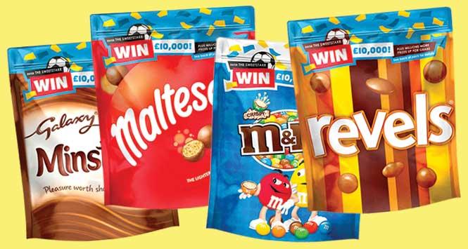 Sweetstake promotional packs