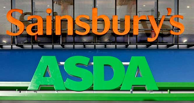 Sainsbury's and Asda stores
