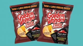 Golden Wonder snacking products