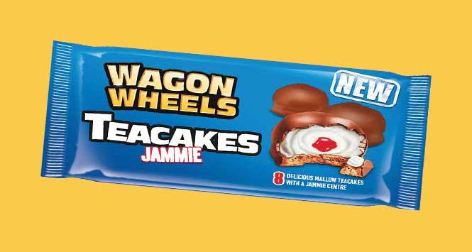 Wagon Wheels teacakes