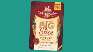 Big Slice of cheese from Cathedral City