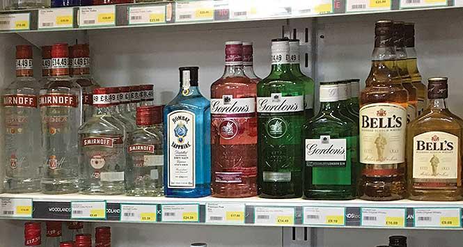 Diageo spirits