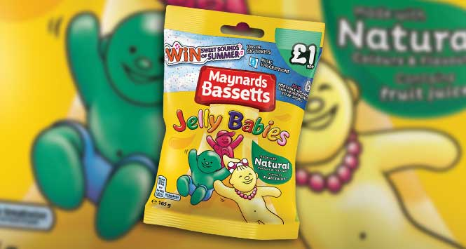 Maynards Bassett Jelly Babies
