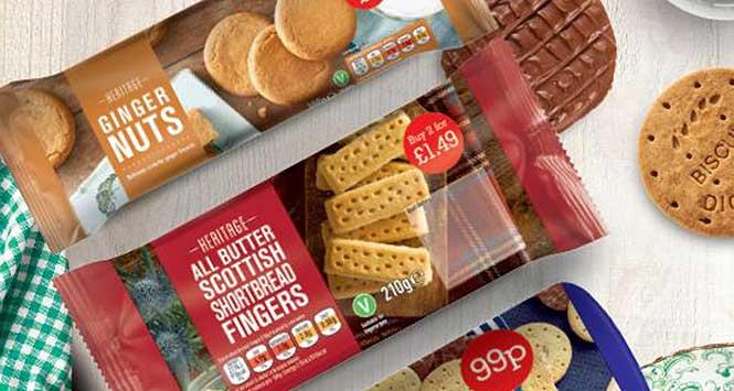 Heritage biscuits
