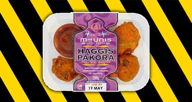 Mrs Unis Haggis Pakora