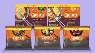 Quorn core convenience range