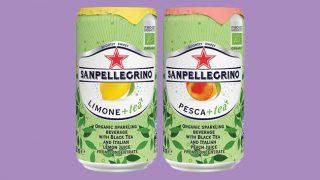 Sanpellegrino flavoured tea range