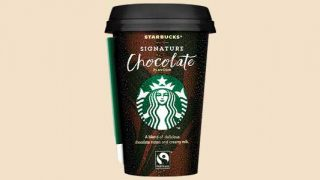 Starbucks signature chocolate drink