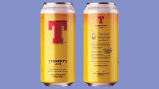 Tennent's new cans