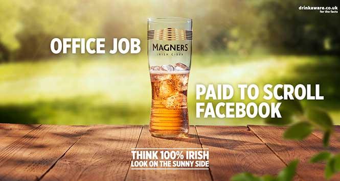 Magners 100% Irish ad