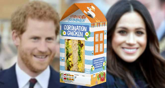 Urban Eat Coronation Chicken Sandwich