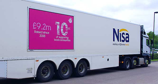 Making a difference locally truck