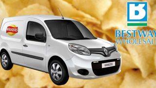 Pepsico and Bestway's prize van