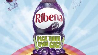 Ribena 'Pick your own gig'