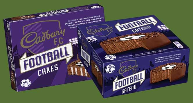 Cadbury Football Cakes