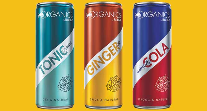 Organics by Red Bull range
