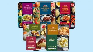 Spar brand ready meals