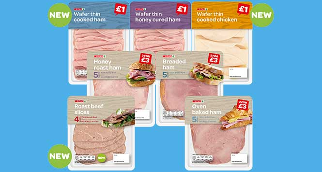 Spar cooked meat range