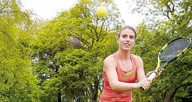 Johanna Konta, Nature Valley brand ambassador