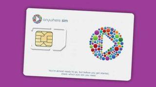 Anywhere Sim sim card