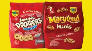 Burton's snack packs