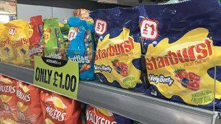 Starburst sweets