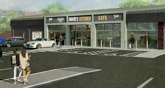 Proposed David's Kitchen site