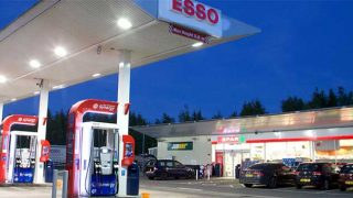 MRH forecourt branded as Esso