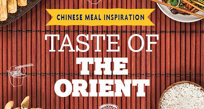 Nisa's Taste of the Orient promotion