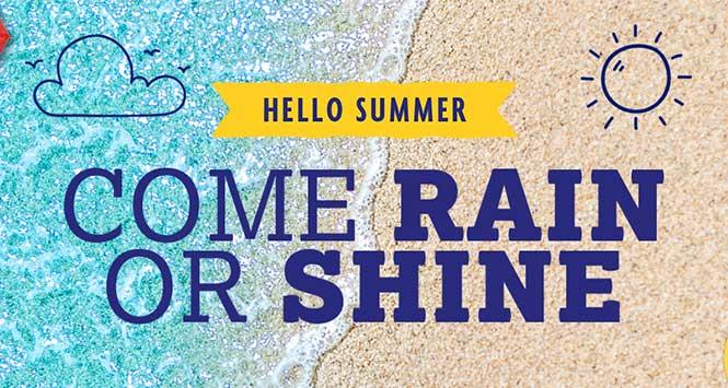 Come Rain or Shine banner