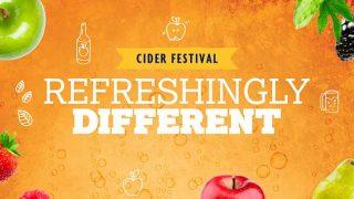 Nisa Cider Festival banner