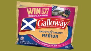 Galloway Cheddar cheese