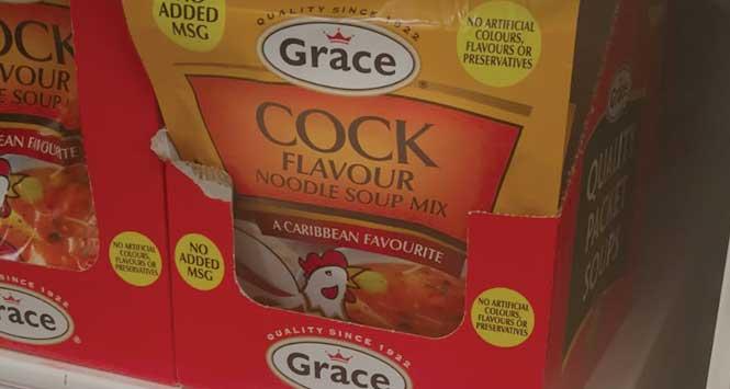 Cock flavour soup