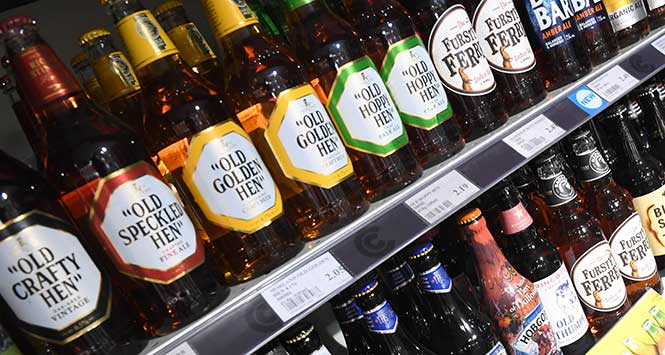 Costcutter craft beer selection