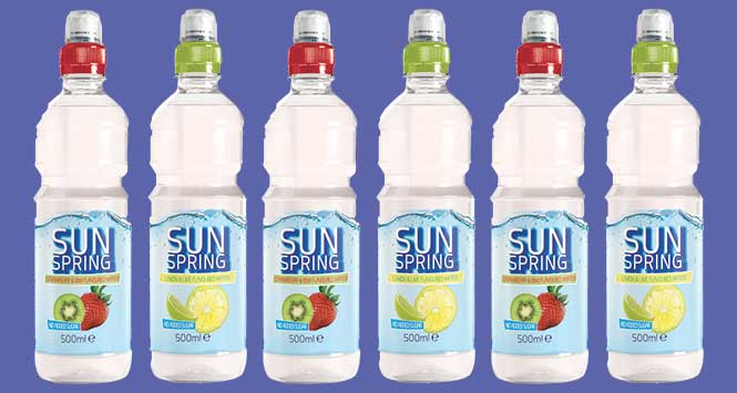 Sunspring flavoured water